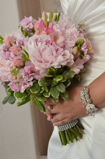 peonies bouquet
