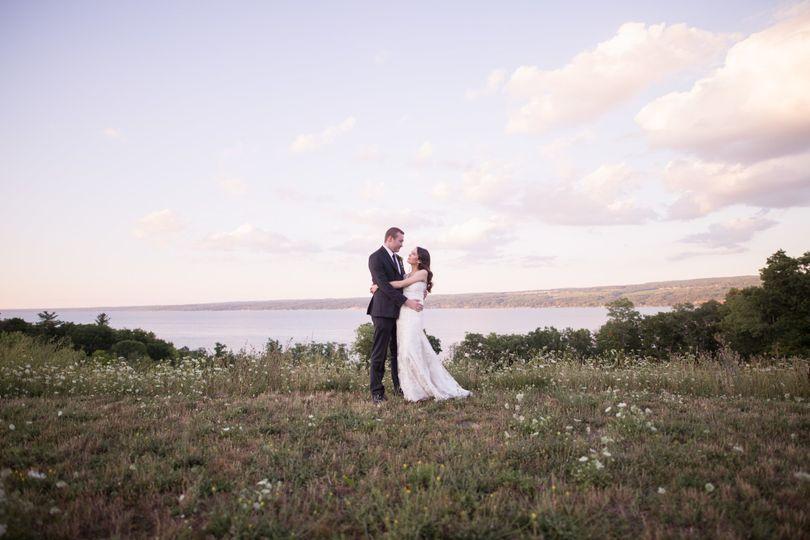 Seneca Lake as the backdrop.