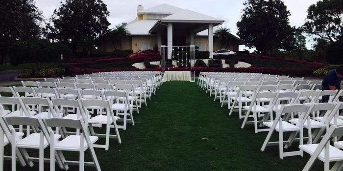 Wedding ceremony aarea