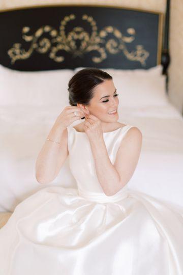 Classic bridal makeup