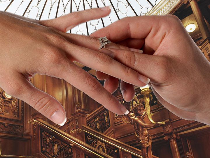 Tmx 1510114774326 Titanic Wedding Proposals Pigeon Forge wedding venue