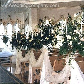 White tulle, fabric draping.