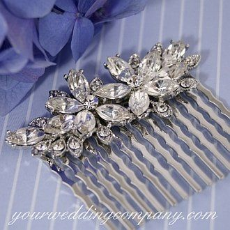 Tmx 1276120053631 FloralHairComb Redmond wedding eventproduction