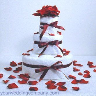Tmx 1276121865756 BridalShowerTowelCake Redmond wedding eventproduction