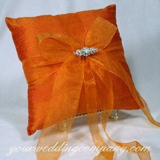 Tmx 1276121968944 OrangeRingPillow Redmond wedding eventproduction