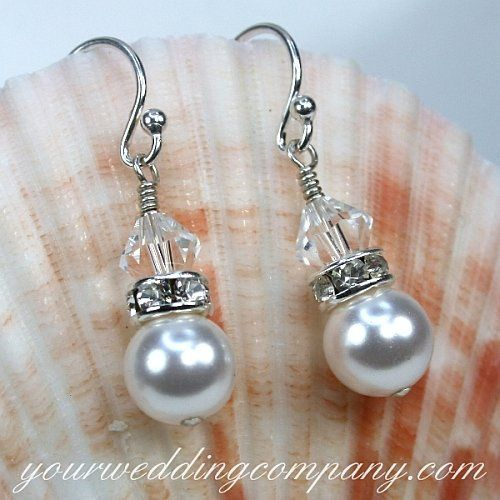 Tmx 1324769322779 Pearlcrystalearrings Redmond wedding eventproduction
