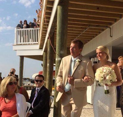 wedding ceremonydad meg