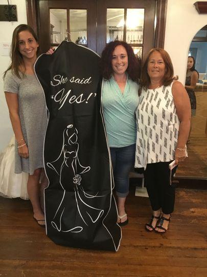 Store pickup of dress