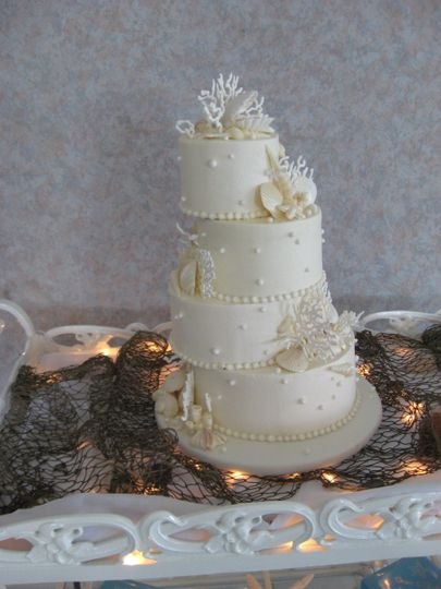 delicate delights wedding cake north carolina wilmington eastern