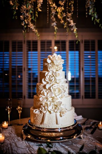 Wedding cake fit for royalty
