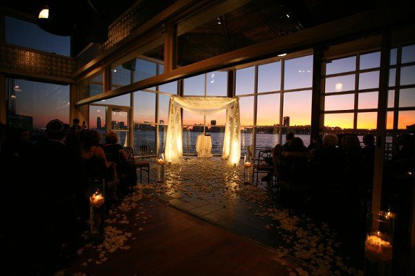 Chuppah at The Lighthouse at Chelsea Piers.