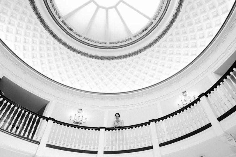 Rotunda at Tappan Hill Mansion
