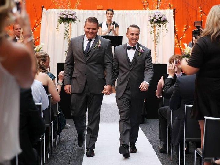 Tmx 1502481833456 Dustin And Doug Walk Down The Aisle Pasadena, CA wedding officiant