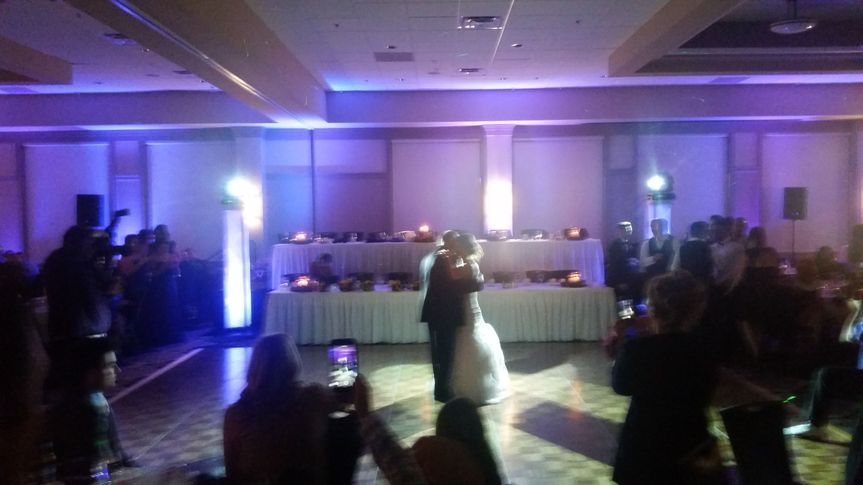 Vernon downs first dance