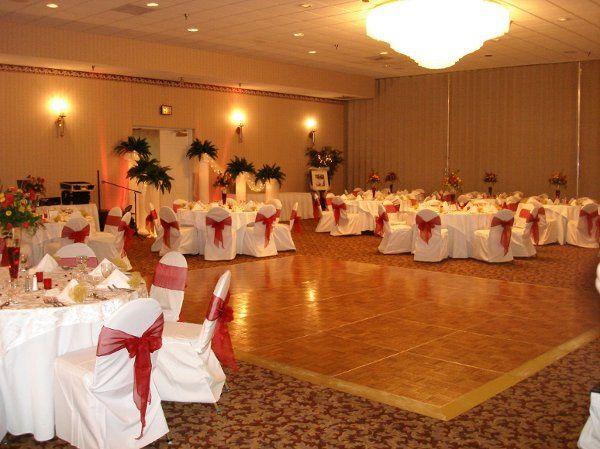 Ballroom hall dance floor