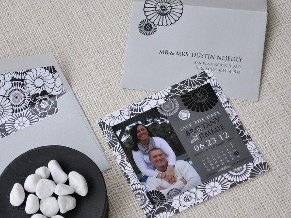 Tmx 1326220705942 BrittanyJimmiesavethedate Sandusky wedding invitation