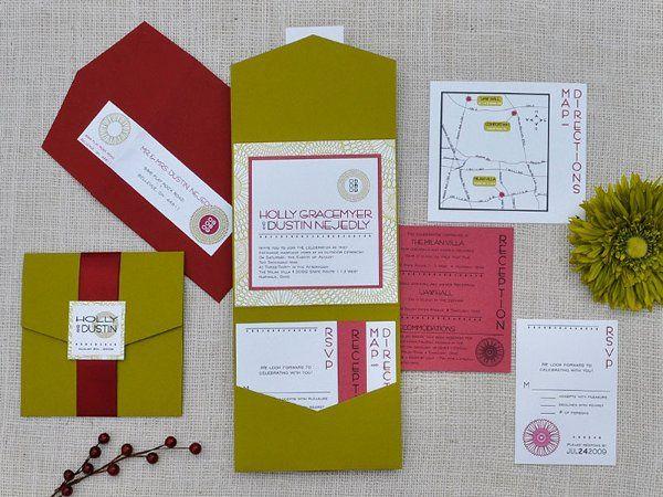 Tmx 1326220718864 HollyDustin Sandusky wedding invitation