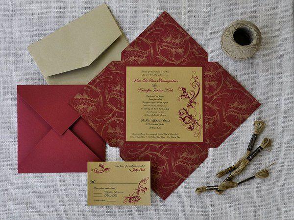 Tmx 1326220828849 KeraKJ Sandusky wedding invitation