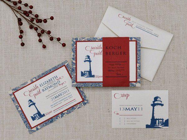 Tmx 1326220929302 SarahPaul Sandusky wedding invitation