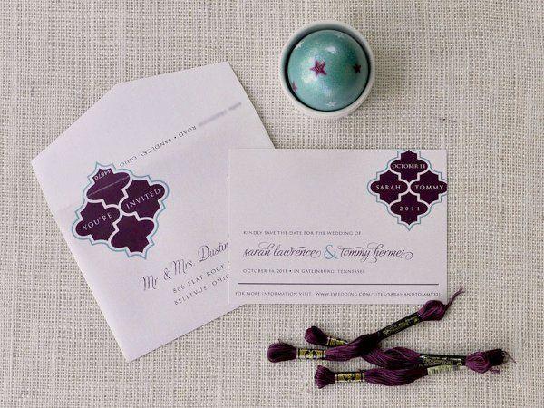 Tmx 1326220961364 SarahTommySTD Sandusky wedding invitation
