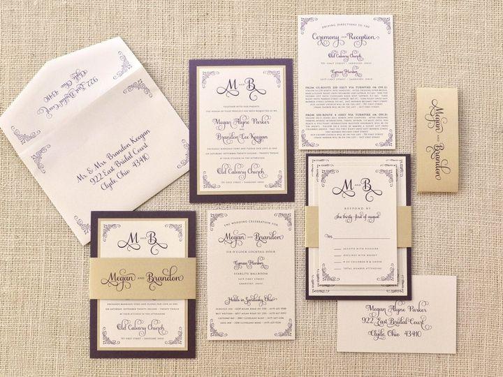 Tmx 1344012277761 MeganBrandon Sandusky wedding invitation