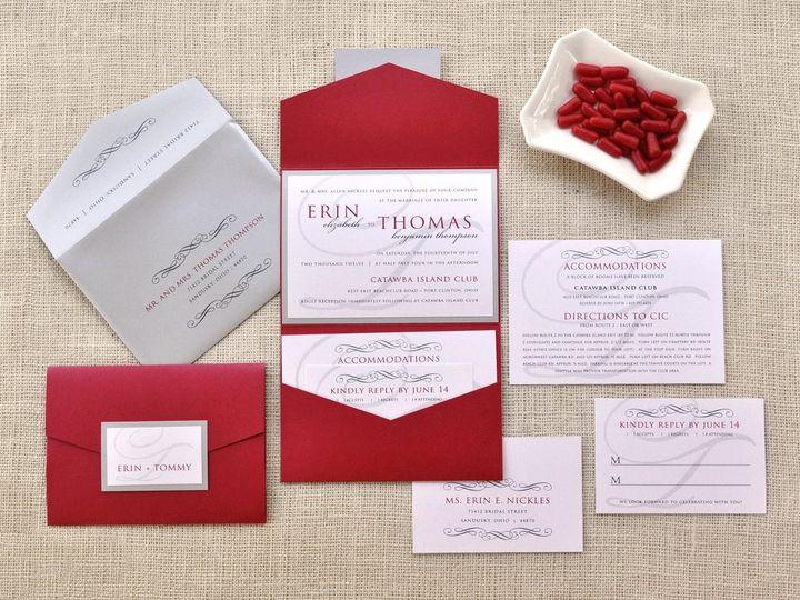 Tmx 1344012396302 ErinTommy Sandusky wedding invitation