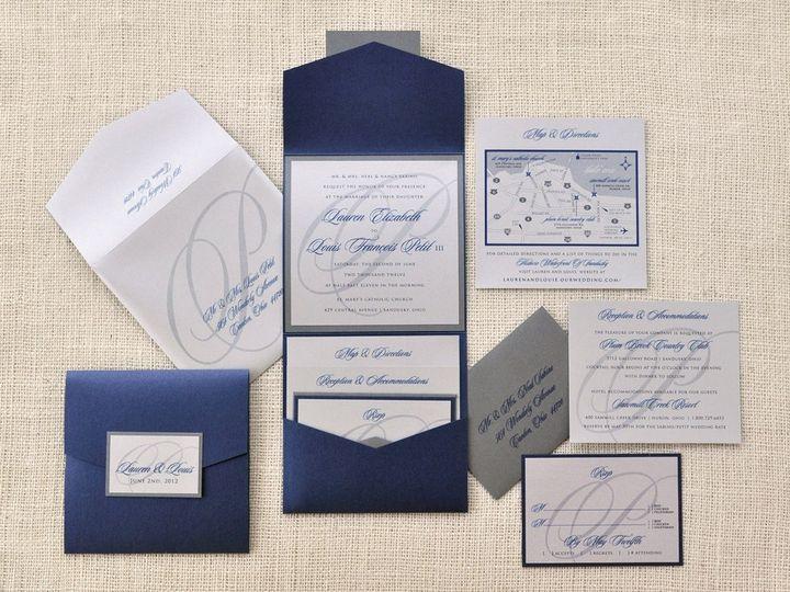 Tmx 1344012402788 LaurenLouie Sandusky wedding invitation