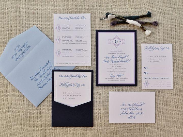 Tmx 1344012443169 AnneBrent Sandusky wedding invitation