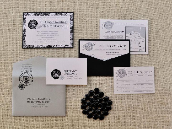 Tmx 1344012472129 BrittanyJimmie Sandusky wedding invitation