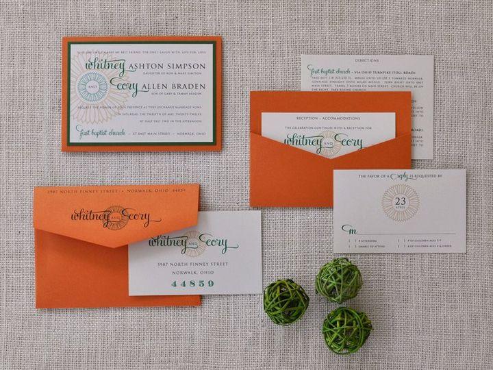 Tmx 1344012478916 WhitneyCory Sandusky wedding invitation
