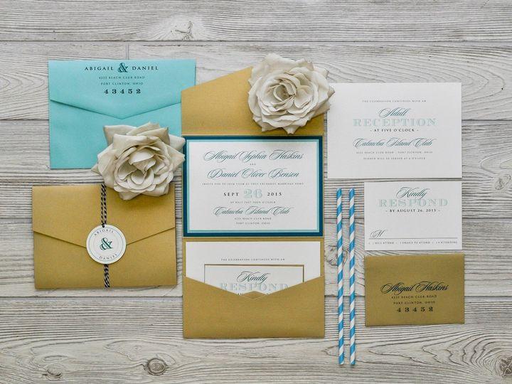 Tmx 1491074893911 The Abigail  Danielchicago Collection Sandusky wedding invitation
