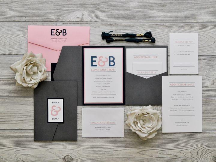 Tmx 1491074947825 The Emma  Bryanchicago Collection Sandusky wedding invitation