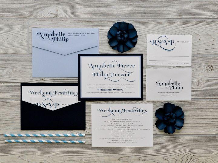 Tmx 1491501743290 The Annabelle  Philipmanhattan Collection Sandusky wedding invitation