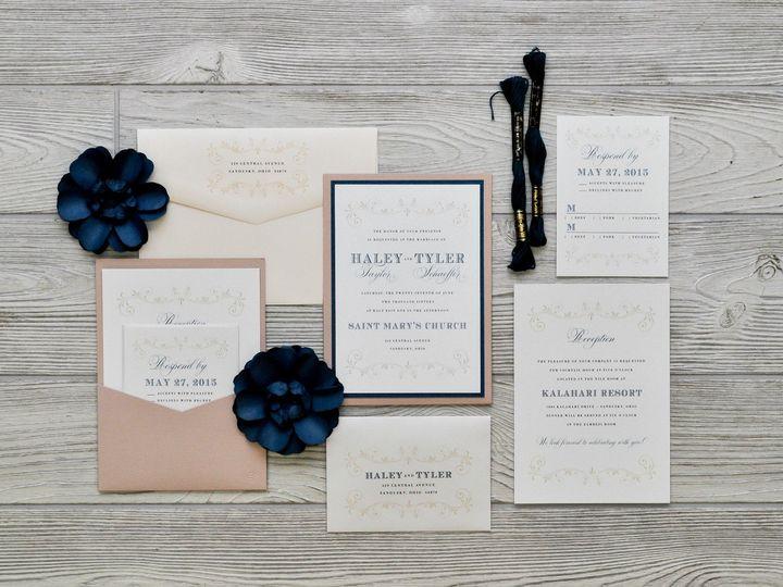 Tmx 1491501793585 The Haley  Tylermanhattan Collection Sandusky wedding invitation