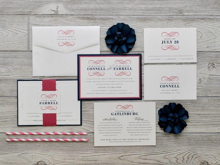 Tmx 1491502006327 The Leah  Markmelrose Collection Sandusky wedding invitation