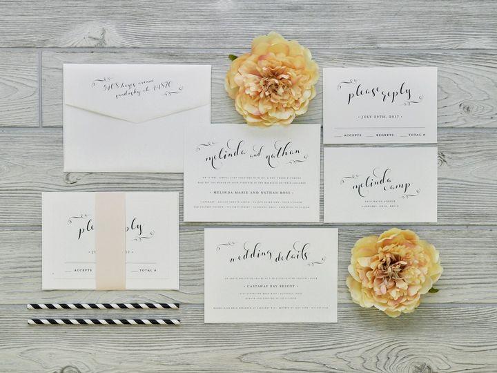 Tmx 1491502451772 The Melinda  Nathansavannah Collection Sandusky wedding invitation