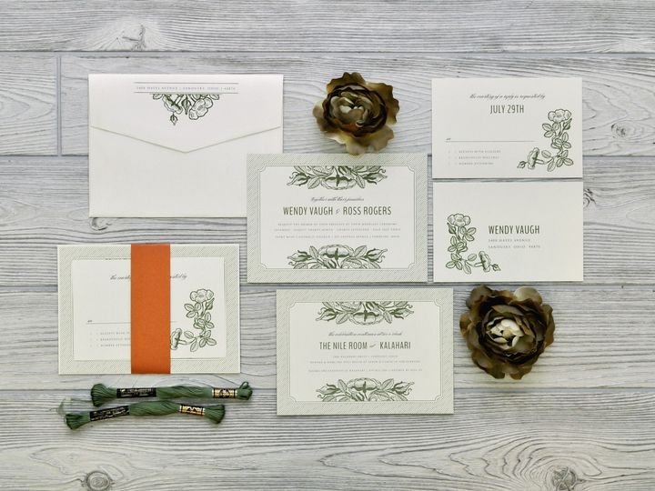 Tmx 1491502467472 The Wendy  Rosssavannah Collection Sandusky wedding invitation