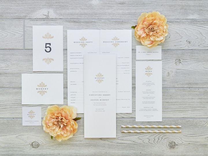 Tmx 1491502886031 The Christina  Jasper Stationery Collection Sandusky wedding invitation