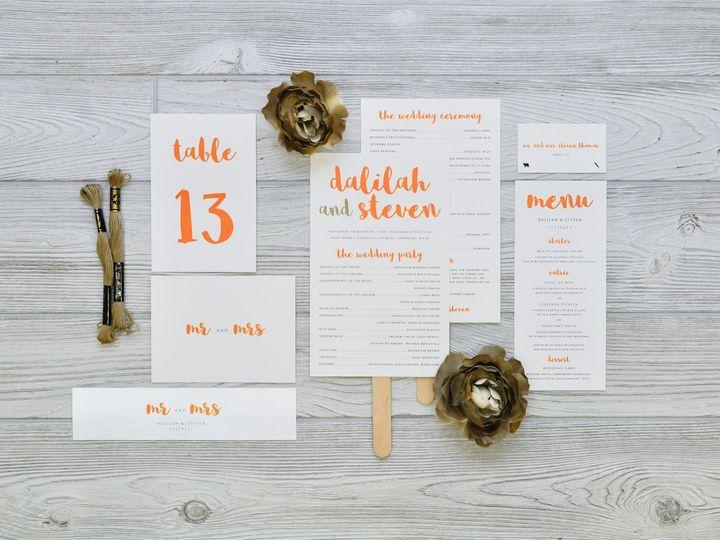 Tmx 1491502902490 The Dalilah  Steven Stationery Collection Sandusky wedding invitation