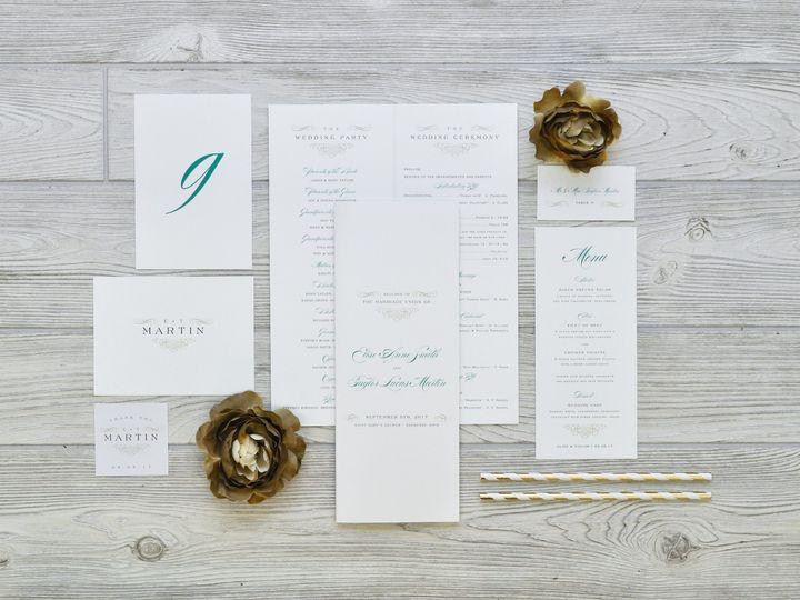 Tmx 1491502919097 The Elise  Taylor Stationery Collection Sandusky wedding invitation