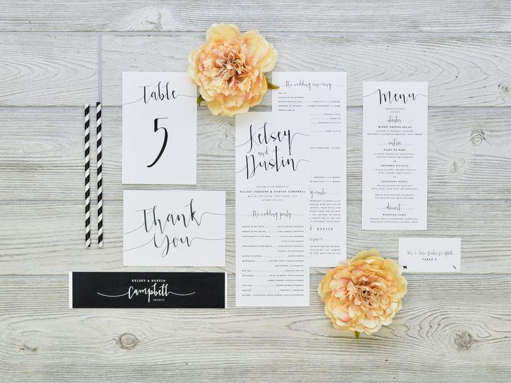 Tmx 1491502953615 The Kelsey  Dustin Stationery Collection Sandusky wedding invitation