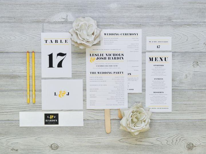 Tmx 1491502971584 The Leslie  Josh Stationery Collection Sandusky wedding invitation