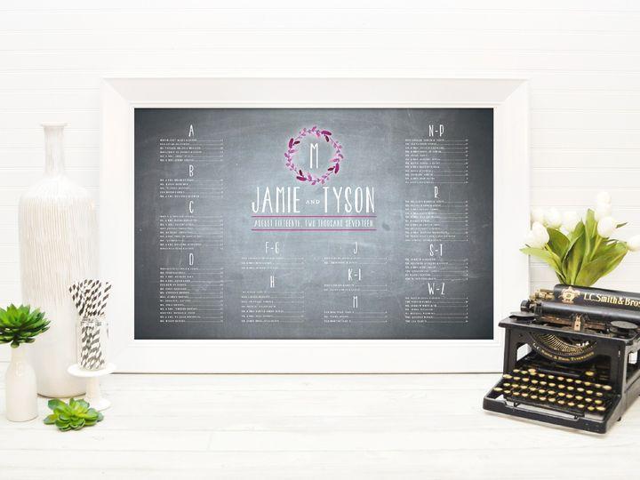 Tmx 1491505711951 The Jamie  Tyson Seating Chart Sandusky wedding invitation