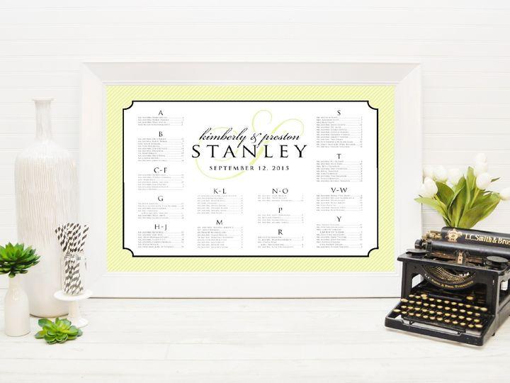 Tmx 1491505717013 The Kimberly  Preston Seating Chart Sandusky wedding invitation