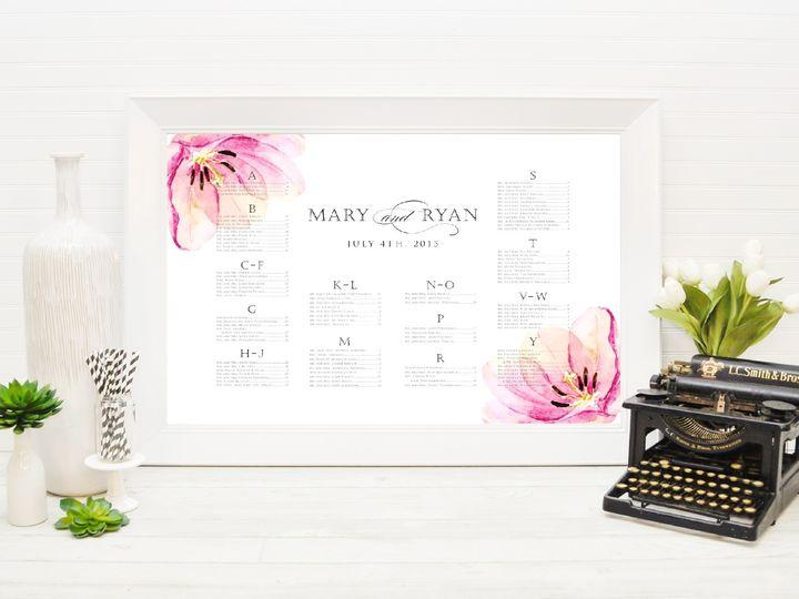 Tmx 1491505758669 The Mary  Ryan Seating Chart Sandusky wedding invitation