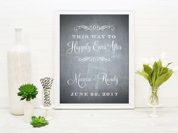 Tmx 1491506034736 The Marcia  Randy Welcome Sign Sandusky wedding invitation