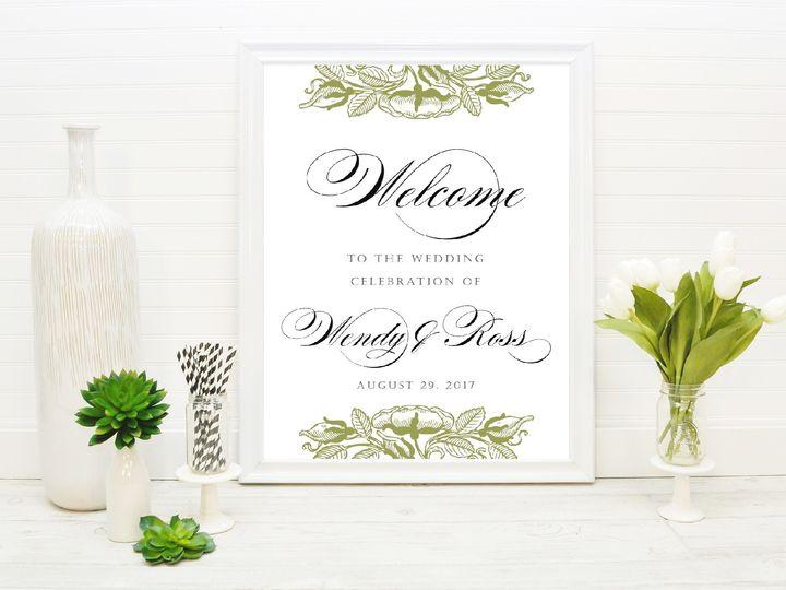 Tmx 1491506078057 The Wendy  Ross Welcome Sign Sandusky wedding invitation