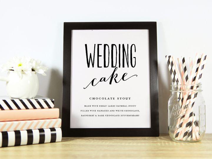 Tmx 1491506144901 Cake Description Wedding Sign Sandusky wedding invitation
