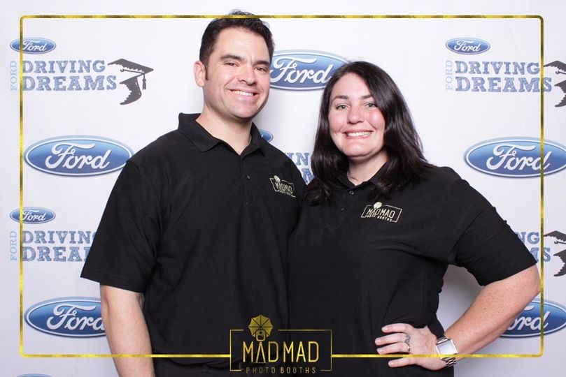 ford driving dreams mad mad photo booths