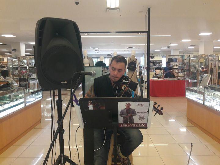 the violin man